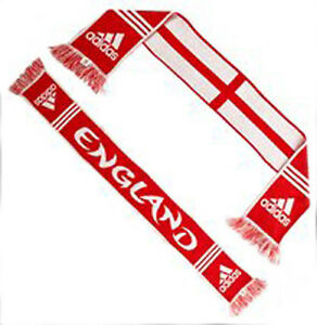 adidas England St George Football Scarf Supporters Fan Scarves Euro 2016 rrp£15