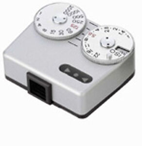 Voigtlander-VC-Meter-II-Silver-Chrome-Shoe-mount-Light-Meter-for-Leica