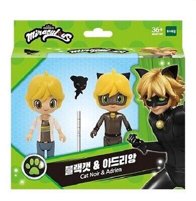 Miraculous Ladybug Action Figure Doll Cat Noir & Adrian Black Cat Toy