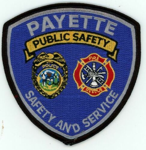IDAHO ID PAYETTE PUBLIC SAFETY NEW SHOULDER PATCH SHERIFF POLICE