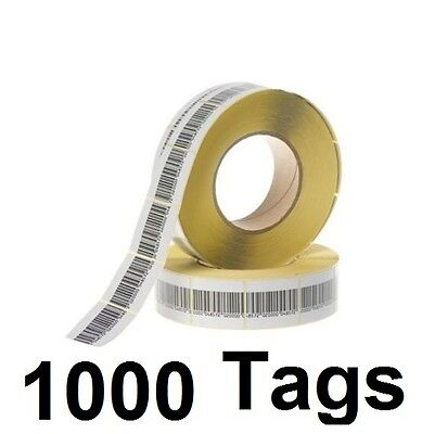 1000 Pcs Eas Checkpoint Barcode Soft Label Tag 8.2 3 X 4 Cm 1.18 X 1.57 Inch