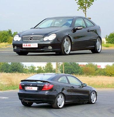Mercedes C Klasse Coupe CL W203 KAW FEDERN TIEFERLEGUNGSFEDERN 50/35