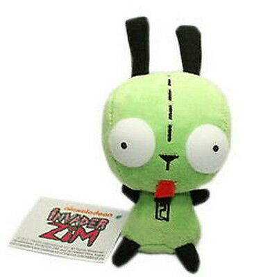 Invader Zim Alien Robot Dog Suit Gir Cute Plush Toy Doll Fans Xmas Gift