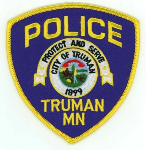 TRUMAN POLICE MINNESOTA MN NEW PATCH SHERIFF