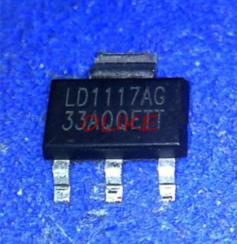 5 pcs New LD1117A-3.3V 3.3V SOT223    ic chip