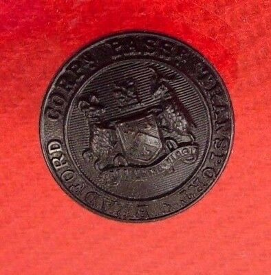 BRADFORD CORPORATION PASSENGER TRANSPORT: BUS/TRAM UNIFORM BUTTON