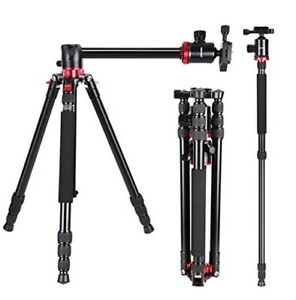 Neewer Camera Tripod Monopod with Rotatable Center Column