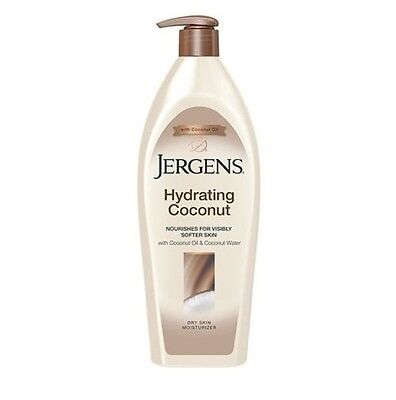 Jergens Hydrating Coconut Lotion For Dry Skin Moisturizer 16oz