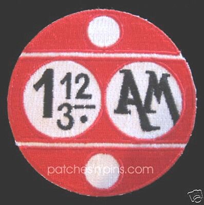 "Space:1999  1.12/3 AM Logo  3"" Uniform Patch-USA Mailed  (SPPA-1903)"