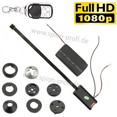 FULL HD 1080p VERSTECKTE KAMERA KNOPF MINI SPYCAM VIDEO BEWEGUNG ÜBERWACHUNG A18 - Full Hd 1080p