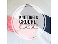 Knitting and Crochet Classes at Sew Confident!