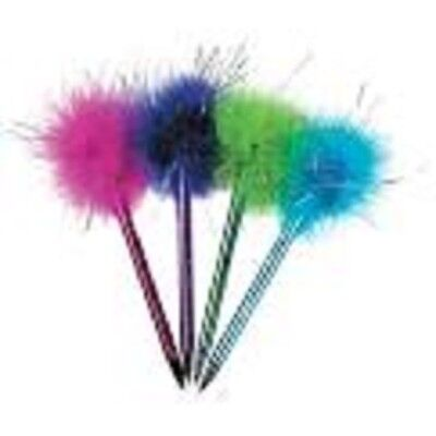 8 Marabou Pen Party Favors-Great for a Tea Party Birthday or any Birthday Theme - Great Themes For Parties