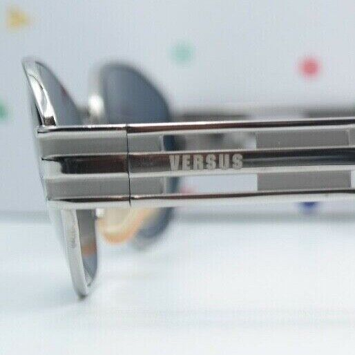 Sonnenbrille Vintage Versus by Versace MOD. R05 Col 76M silber 52/18 125 NOS