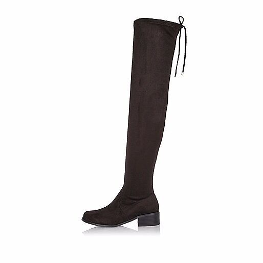 **BRAND NEW RIVER ISLAND OVER KNEE BOOTS**