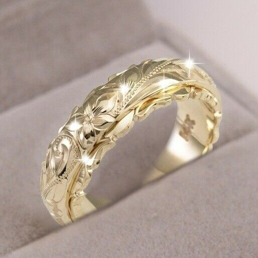 Jewellery - Elegant Rings for Women 925 Silver,Rose Gold,Gold jewelry Ring Size 6-12