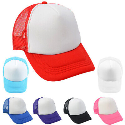 Sublimation Baseball Cap For Heat Transfer Press - Various Colors Available