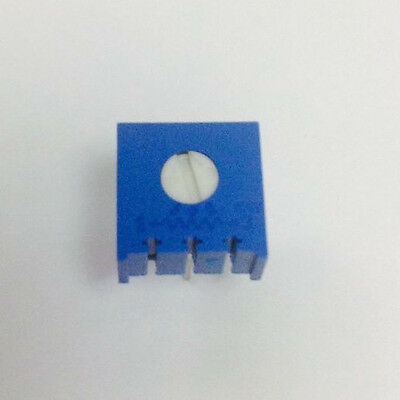 Potentiometer 1k 10 38 Sq Single Turn Cermet Vishay New 50 Pcs