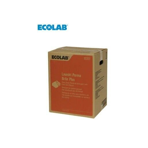EcoLab 6110391 Laundri Perma Brite™ 45 lb. Laundry Detergent (Case of 1)
