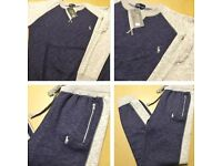 Mens Ralph Lauren Tracksuit | WHITE & BLUE | Free P&P First class | All Sizes Available