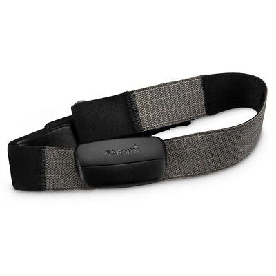 GARMIN Premium Heart Rate Monitor HRM GPS 010-10997-02 Gray Strap