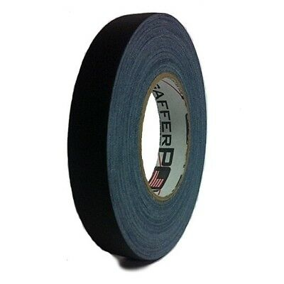 Gaffer Power Black Gaffer Tape - 1 Inch X 60 Yards - No Residue - Made In The Us