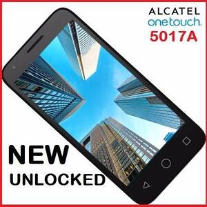 NEW 4G ALCATEL 5017A UNLOCKED  4.5 INCH 5MPX CAMERA $95 Castle Hill The Hills District Preview