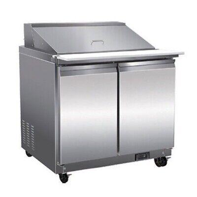 Serv-ware Sp36-12m-hc 36 Mega Top Sandwich Salad Unit Refrigerated Counter