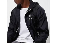 Black franklin and Marshall zip jacket