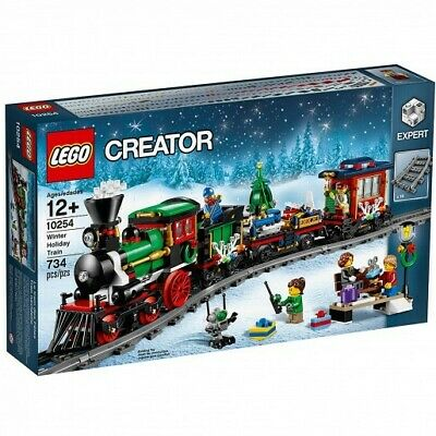 LEGO Creator Christmas Winter Holiday Train 10254 New Factory Sealed RETIRED