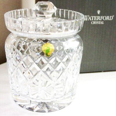 Waterford Crystal LISMORE Biscuit Barrel Jar - NEW IN BOX! Waterford Lismore Biscuit Barrel