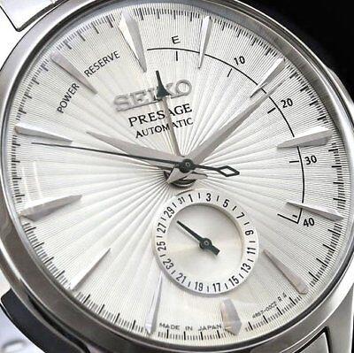 New Seiko Presage Cocktail Martini Automatic Watch White Dial 40.5 mm SSA341J1