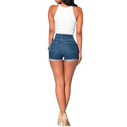 7e8d6e442 Summer Denim Pants Women Shorts Jeans High Waist Mini Party Beach Hot Sexy