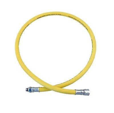 """Low Pressure Scuba Regulator Hose, 39"""" Yellow"""