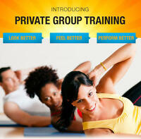 SMALL GROUP PERSONAL TRAINING**MONDAY AND WEDNESDAY EVENINGS