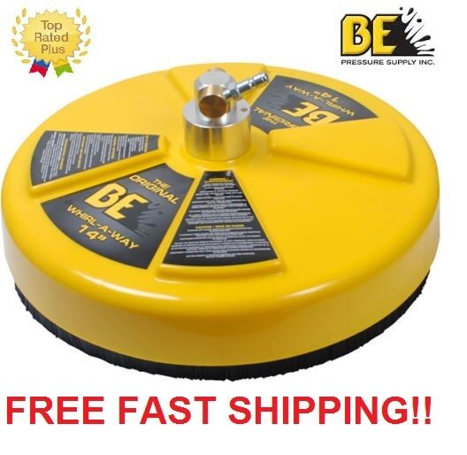"""New BE Pressure 14"""" Whirl-A-Way Flat Surface Concrete Cleaner Part# 85.403.014"""