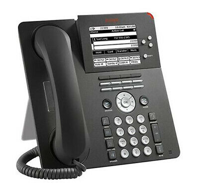 Refurbished Avaya 9650 Voip Business Poe Ip Phone Blk 9650d01a-1009 700383938