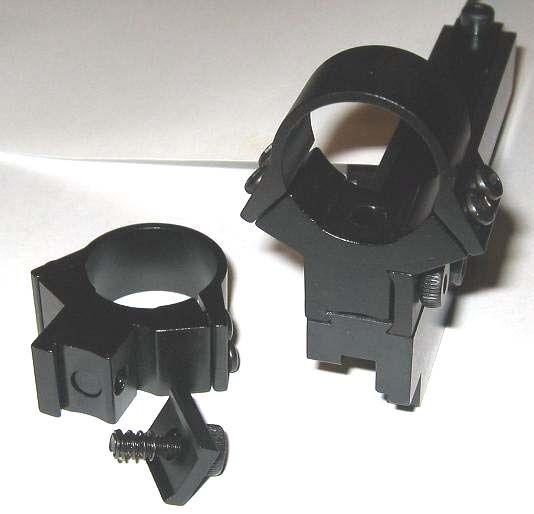 """Swiss Schmidt Rubin K31 K-31 No Gunsmith Clamp-on Scope Mount + 1"""" Aluminum Ring"""