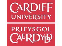Interview Participants Sought for Cardiff University Study (£10 Amazon Voucher)
