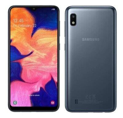 """Samsung Galaxy A10 4G 6.2"""" Smartphone 2GB RAM 32GB Dual-Sim Unlocked {Black} B+"""