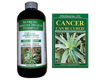 Aloe Arborescens Aloe Vera Supreme Immune Health Formula & BOOK - Supreme Health Formula