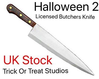 Halloween 2 Prop Butchers Knife. Licenced Prop Knife, Trick Or Treat Studios. UK