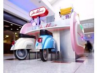 JOE DELUCCI'S KIOSK, WESTFIELD LONDON, PART TIME & FULL TIME STAFF