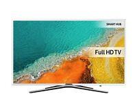 "Beautiful White 55"" SAMSUNG Smart LED TV UE55K5510 warranty and delivered."