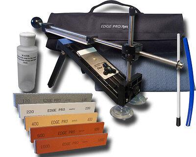 Edge Pro Apex Knife Sharpener Kit 3 w/ Carrying Case Precise Hand Sharpening New