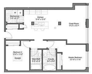 Centre Suites on 3rd, 945 3rd Ave E #316, $299,900