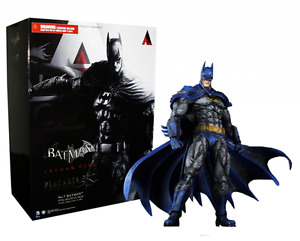 Batman Arkham City Play Arts / Square Ennix 1970s Bat Suit