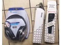2 Microphones & 1 Headphone ( FOR KARAOKE)