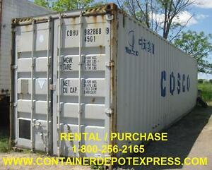 NEW OR USED STEEL STORAGE CONTAINER
