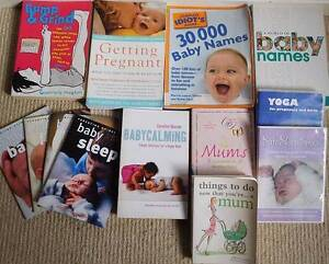 Baby/pregnancy books and DVD bundle Dernancourt Tea Tree Gully Area Preview