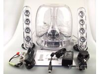 Harman Kardon Soundsticks III boxed with all accessories and bluetooth adapter